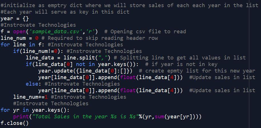 Python code solution data analysis
